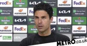 Mikel Arteta hits back at criticism for his team selection against Villarreal
