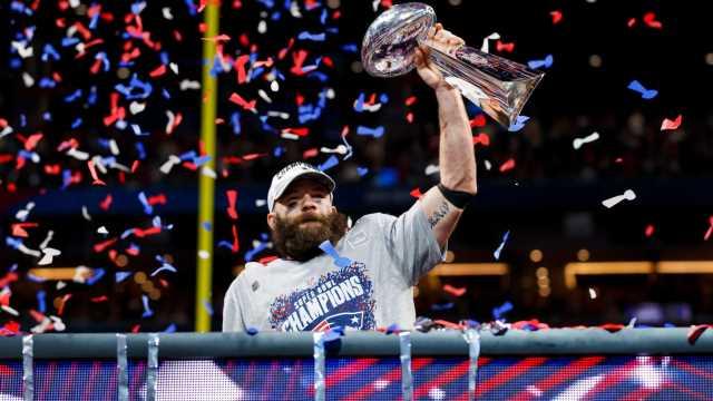NFL world reacts to Patriots wide receiver Julian Edelman's retirement