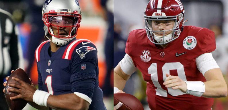 Patriots coach Bill Belichick after drafting Mac Jones: Cam Newton is our quarterback