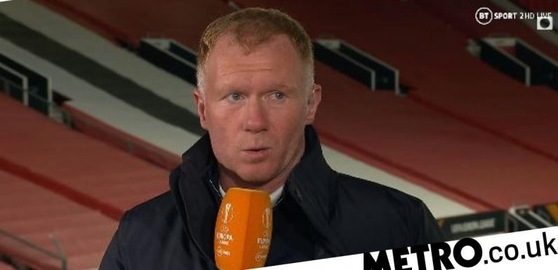 Paul Scholes blasts Man Utd star for 'contributing nothing' in Roma win