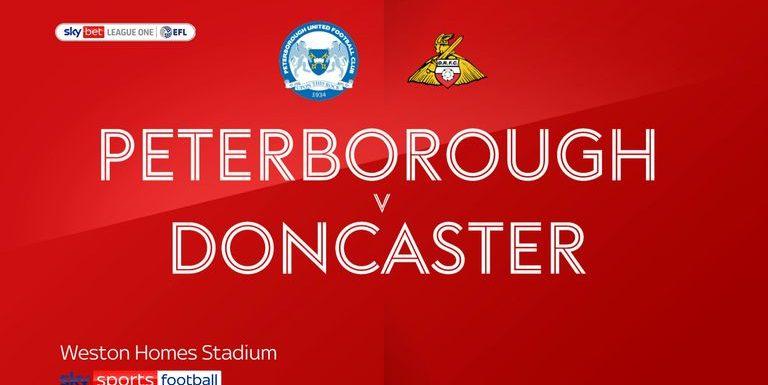 Peterborough 2-2 Doncaster: Posh blow two-goal lead in promotion pursuit