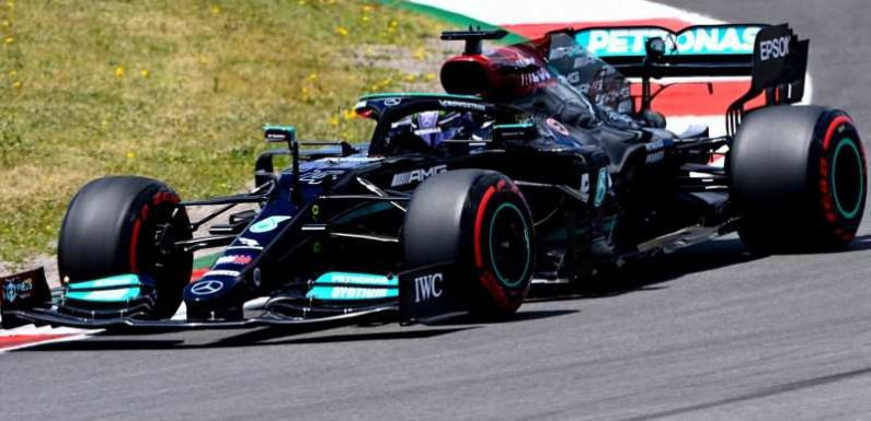 Portuguese GP: Lewis Hamilton fastest from F1 title rival Max Verstappen in close Practice Two