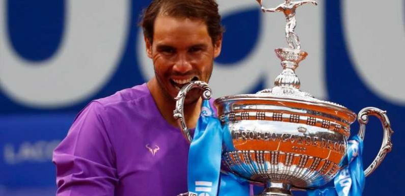 Rafael Nadal wins his 12th Barcelona Open title while Ashleigh Barty triumphs in Stuttgart