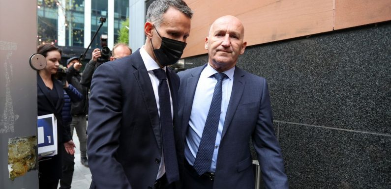 Ryan Giggs arrives at court to face charges of assault and coercive control