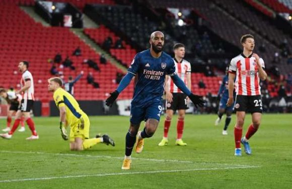 Sheffield United vs Arsenal result: Alexandre Lacazette keeps slim hopes of European qualification alive
