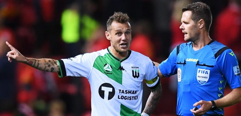 Tempers boil over in heated A-League clash