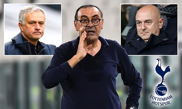 Tottenham to appoint Maurizio Sarri odds SLASH after reported contact