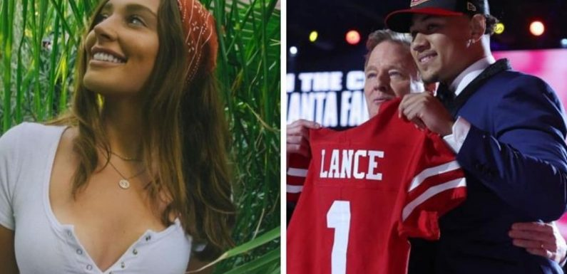 Trey Lance's curious love connection to Colin Cowherd's daughter Liv