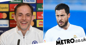 Tuchel reveals talks with Chelsea players about Eden Hazard before reunion