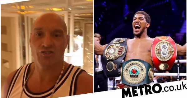 Tyson Fury makes sensational promise over Anthony Joshua fight