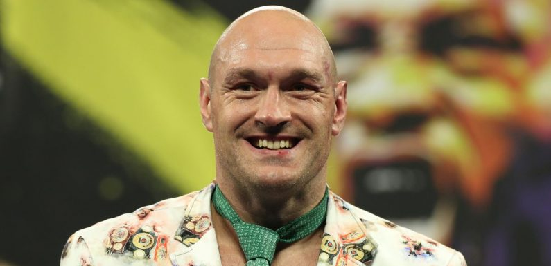 Tyson Fury to walk out 'King Fury' horse at Churchill Downs for Kentucky Derby