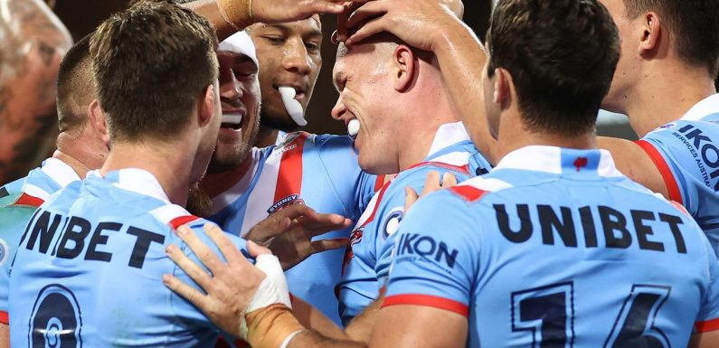 Ugly injury marrs classic Roosters win