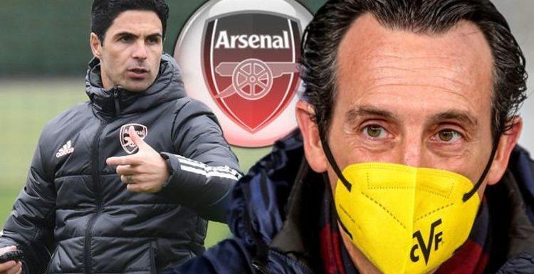 Unai Emery sends Mikel Arteta message to 'unhappy' Arsenal board amid Paulo Fonseca links