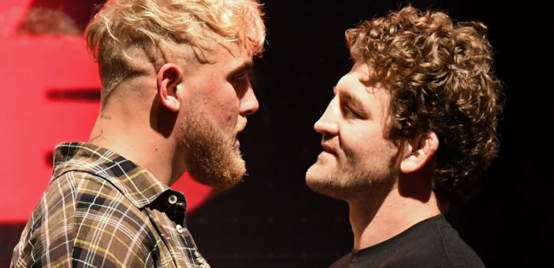 Weigh-in leads to a lot of 'Dad Bod' jokes, but Ben Askren is coming to save the world from Jake Paul