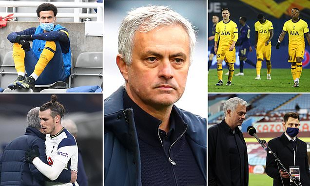 Where it all went wrong for Jose Mourinho at Tottenham