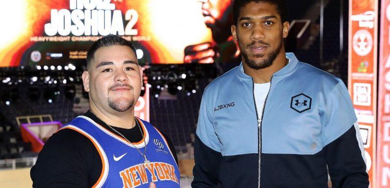 Andy Ruiz backs former foe Anthony Joshua to beat Tyson Fury on one condition