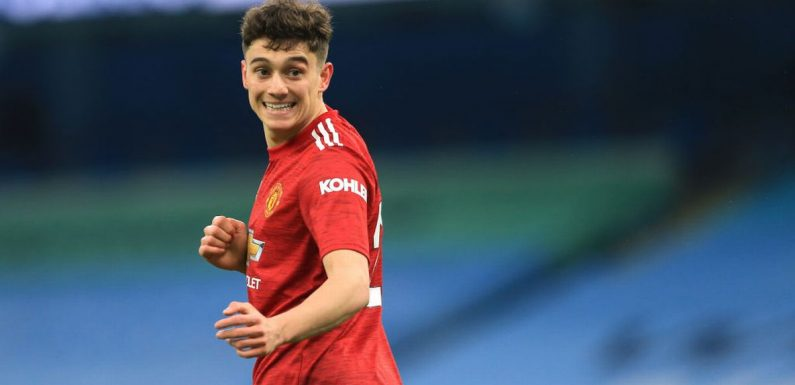 Dan James was 'put out of comfort zone' in talks with Man Utd boss Solskjaer