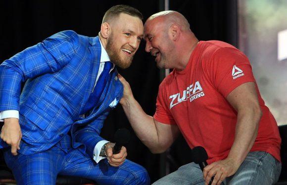 UFC chief Dana White had to stop Conor McGregor placing $3million bet