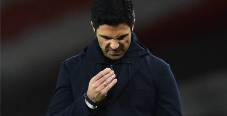Mikel Arteta given harsh reminder of reliance on young guns as Arsenal's senior trio flop