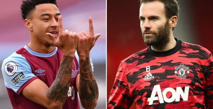 Man Utd's Juan Mata decision could confirm permanent Jesse Lingard to West Ham transfer