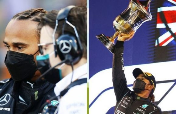 'Bono I can count I got it' – Lewis Hamilton reveals 'nervousness' during F1 opener