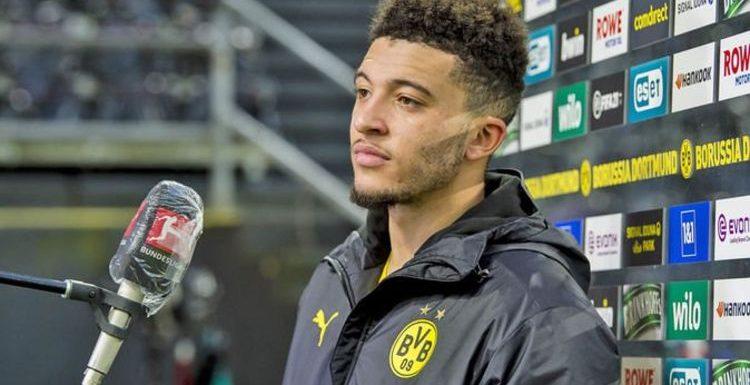 Jadon Sancho to Manchester United: Borussia Dortmund open to summer transfer deal
