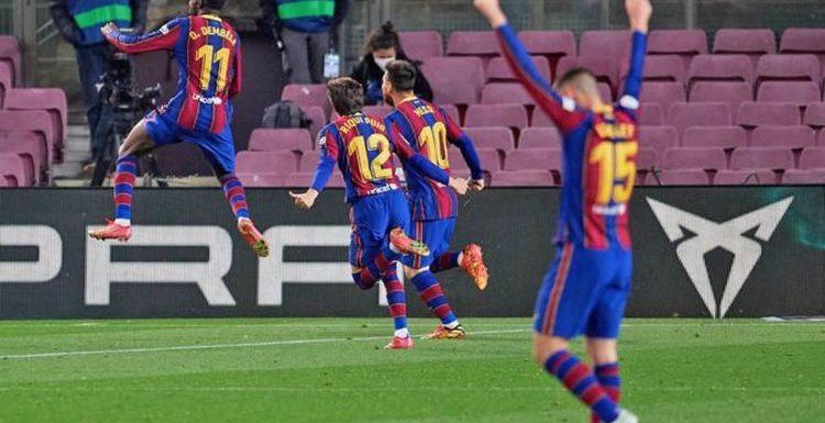 Barcelona boss Ronald Koeman clarifies Ousmane Dembele situation after Real Valladolid win