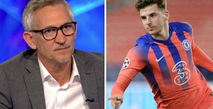 Gary Lineker hits back at 'weird' Mason Mount criticism during Chelsea vs Porto clash