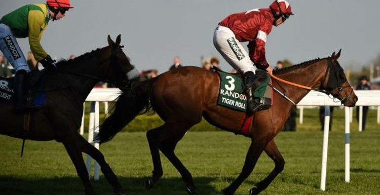 Grand National Festival 2021 LIVE: Updates from day one at Aintree with Tiger Roll racing