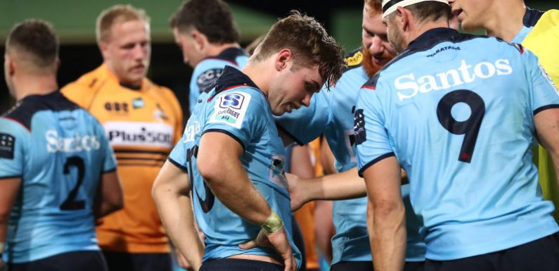 Sacked Penney 'proud' of Waratahs response but missed kick haunts Harrison