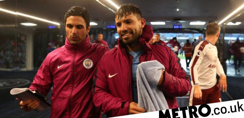 Mikel Arteta discusses Arsenal approach for Sergio Aguero ahead of Man City exit