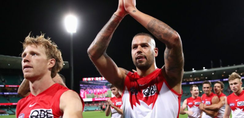 Guess who? Franklin haunts Bombers again as Swans go 4-0