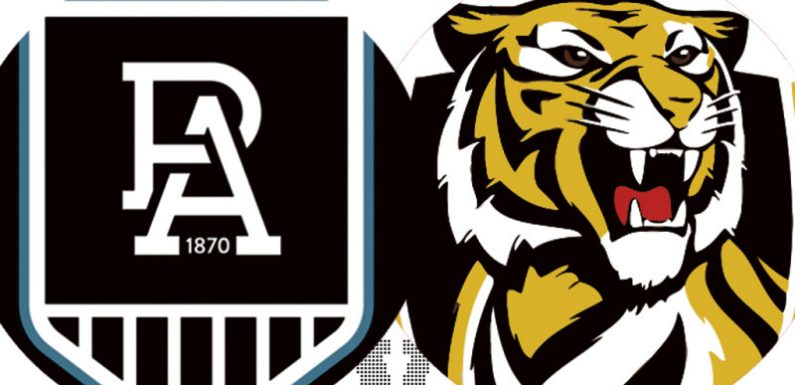 AFL 2021 LIVE updates: Port Adelaide and Richmond square off at Adelaide Oval