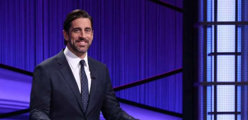 Aaron Rodgers on desire to become main 'Jeopardy!' host: 'I would love to'