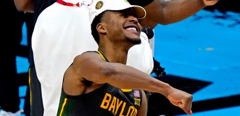 Baylor's Jared Butler wins men's Final Four Most Outstanding Player after leading Bears to title
