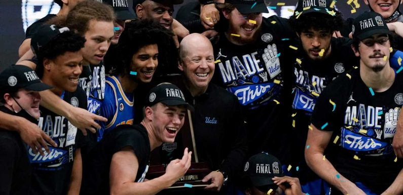UCLA's surprise men's Final Four run is validation Mick Cronin was exactly what blue-blood program needed