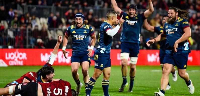 Sky Super Rugby Aotearoa: Highlanders stun Crusaders in record win