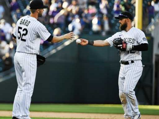 Rockies' Daniel Bard stays cool under fire, saves game vs. Dodgers – The Denver Post