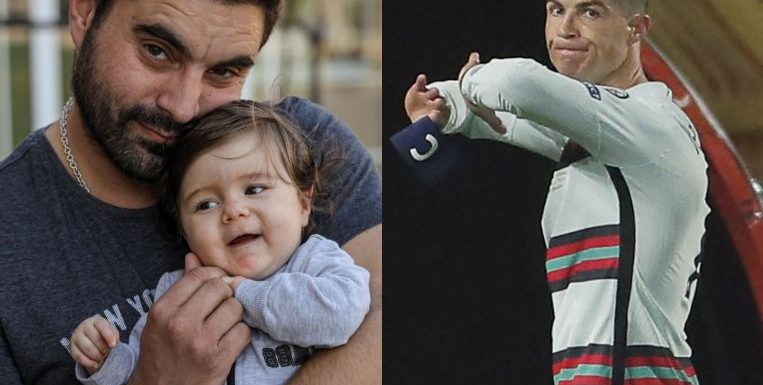 Football: Ronaldo armband sells for over $100,000 to help toddler surgery