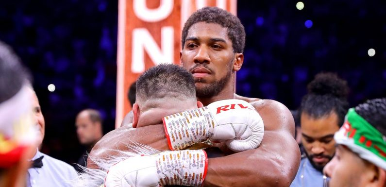 Anthony Joshua's inspiring messages to Andy Ruiz Jr after rematch defeat