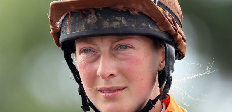 Lorna Brooke taken to hospital in air ambulance after fall at Taunton