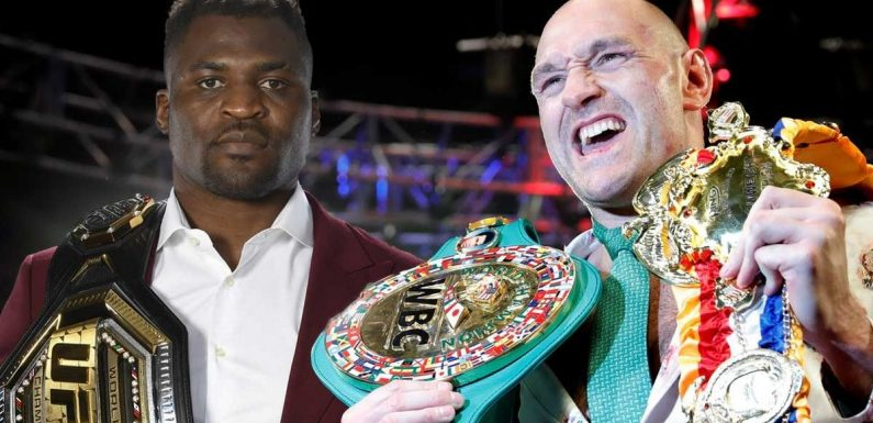 Francis Ngannou sends message to Tyson Fury over heavyweight mega-fight