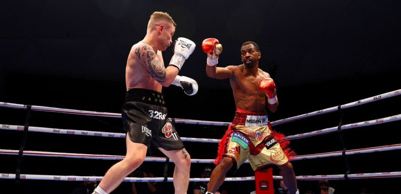 Carl Frampton retires after defeat by Jamel Herring as dream is crushed