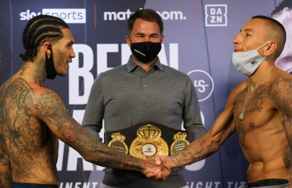 Conor Benn can prove he's heading in right direction by beating Samuel Vargas
