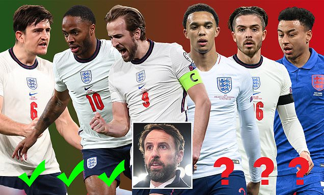 England's Euro 2020 finals squad POWER RANKINGS