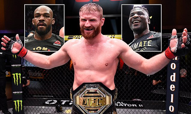 UFC light heavyweight champion Blachowicz eyes Jones or Ngannou fights