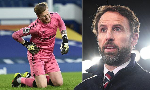 Jordan Pickford 'TERRIFIED injury setback may cost him Euro 2020 spot'
