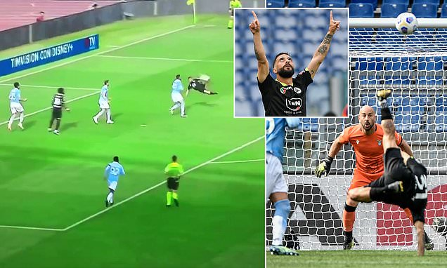 Daniele Verde scores one of the goals of the season with bicycle kick