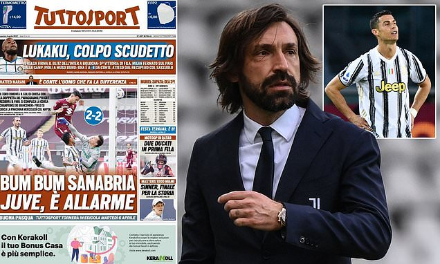 Andrea Pirlo 'gambling with his job' and on the brink at Juventus