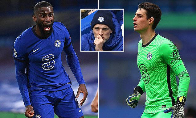 Chelsea's Antonio Rudiger DISMISSED from training after Kepa BUST-UP
